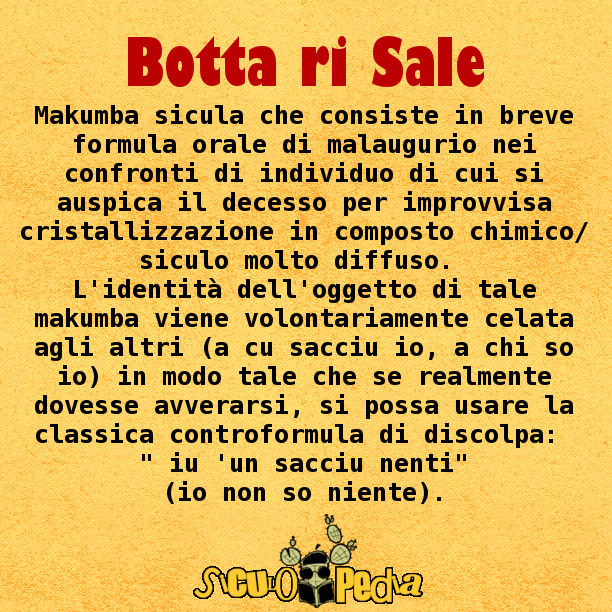 Botta ri Sale